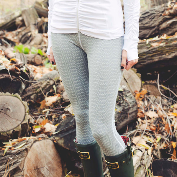 Summit Legging, Graphite Zigzag - Albion - 3
