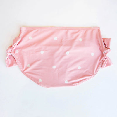 Pink Dottie Tie Bottoms