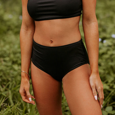 AllBlack Groove High-Waisted Bottoms