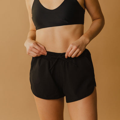 Black Sprinter Shorts