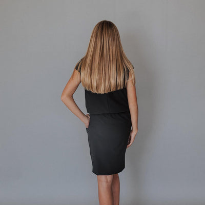 Mini Black Going Places Dress