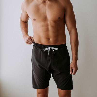 Wind and Sea Shorts, Black