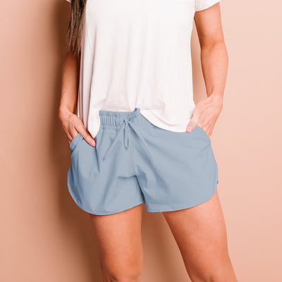 French Blue Sprinter Shorts