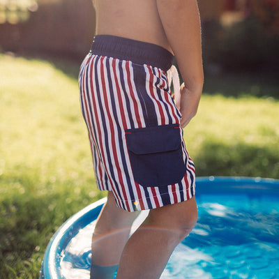 Firecracker Jr. Swim Trunks