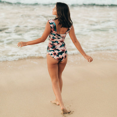 The Bronte Off Shoulder One-Piece Swimsuit