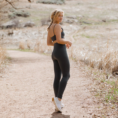 Intention Flow Leggings, Charcoal