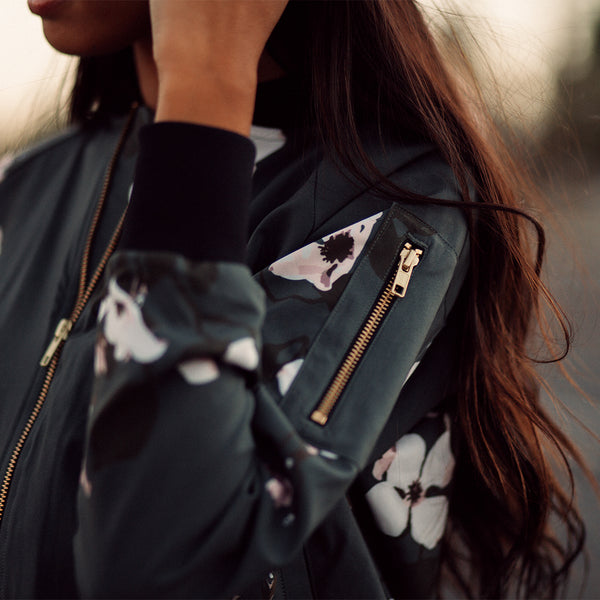 Orchid Bomber Jacket