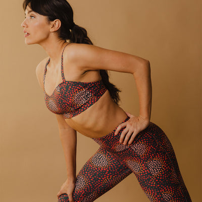 Intention Performance Leggings, Calypso