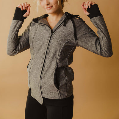 Cascade Jacket, Heather Grey