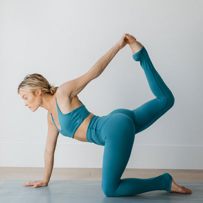 Intention Flow Leggings, Cobalt