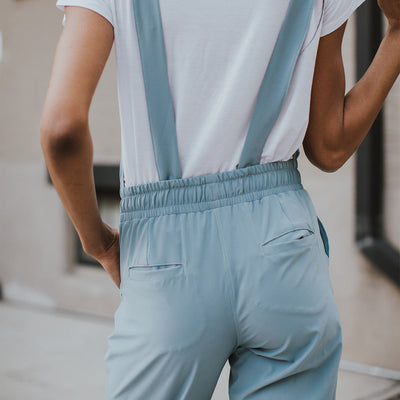 Dusk Blue Classic Overall Jumpsuit