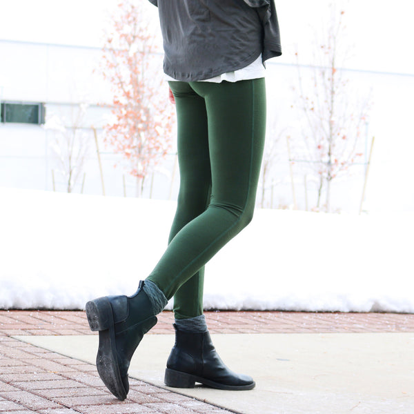 Go Soft Legging, Evergreen - Albion - 1