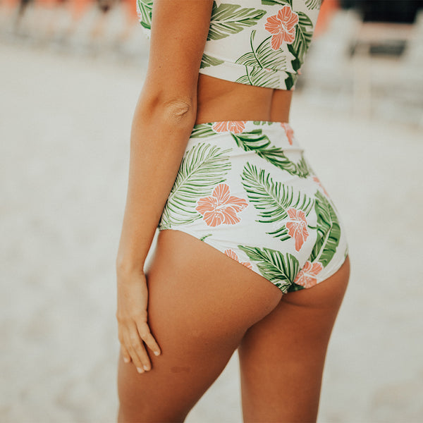 Aloha High-Waisted Bottoms