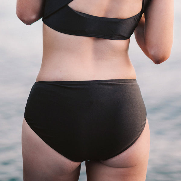 Domingo Black Hipster Bottoms - Albion - 2