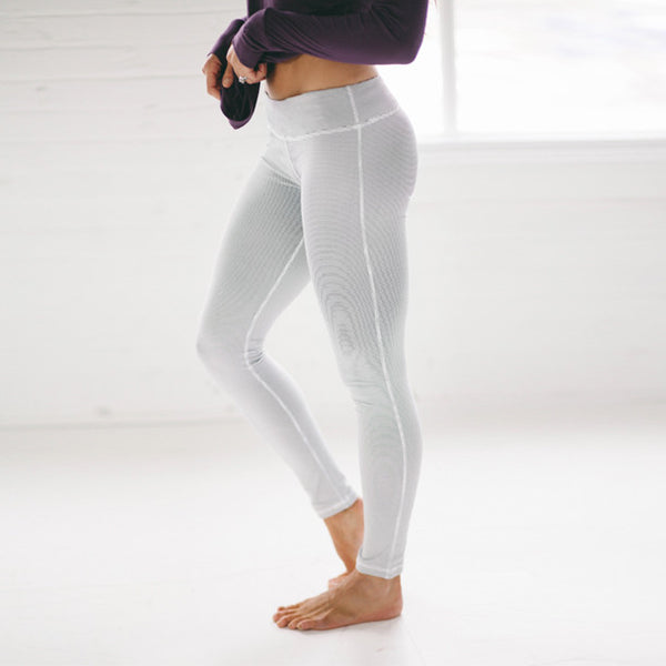Sweet Stripe Extend Leggings, Midnight - Albion - 1