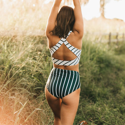 Tidal Wave High-Waisted Bottoms