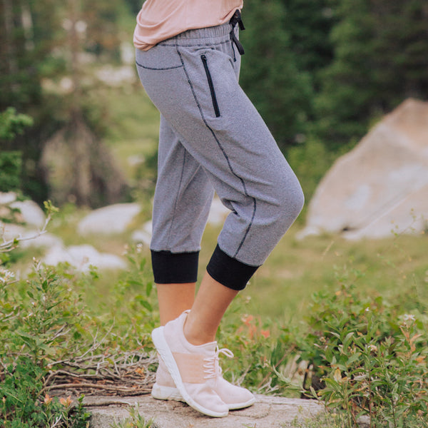 Women's At Ease Crop Joggers from Albion
