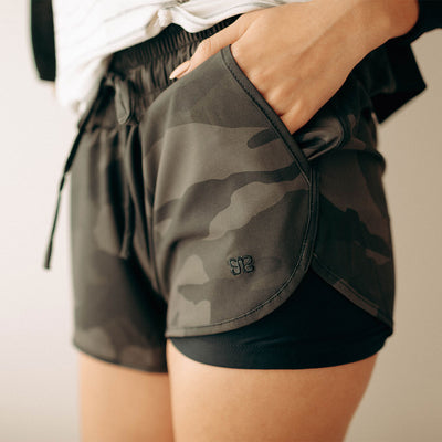 Camo Lunge Shorts