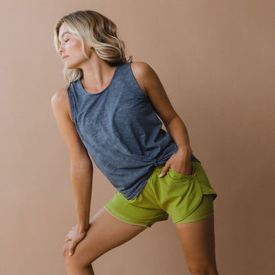 Snap Pea Lunge Shorts