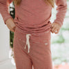 Mini Red Stripe Pajama Set