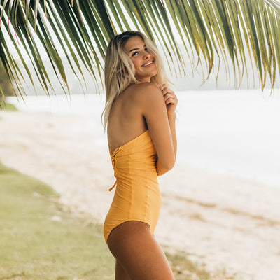 The Golden Hour One-Piece Swimsuit