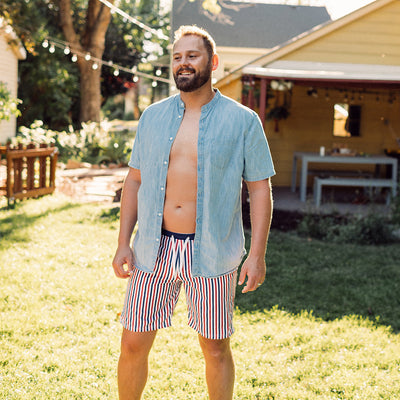 Firecracker Swim Trunks
