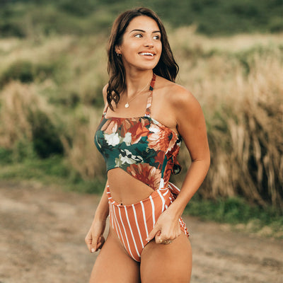 The Daisy One-Piece Cut Out Suit