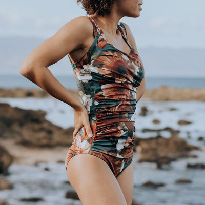 The Blaire Off Shoulder One-Piece Swimsuit