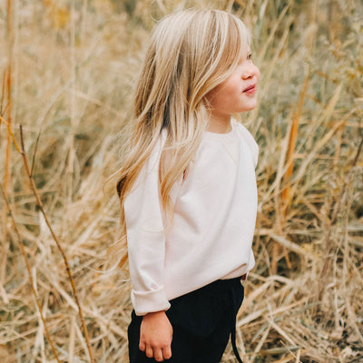 Mini Blush Neo Crop Top Kids