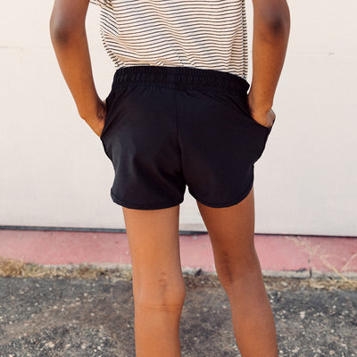 Mini Black Sprinter Shorts