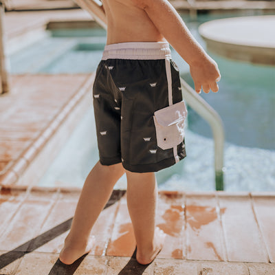 Beckham Jr. Swim Trunks