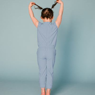 Mini French Blue Jumpsuit