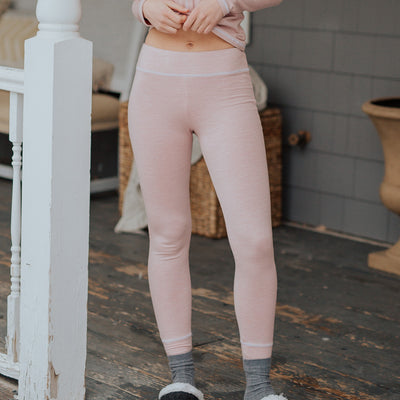 Albion Pink Pajama Tights Bottoms