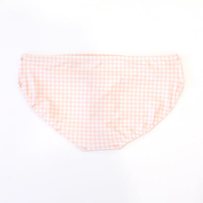 Pink Check Hipster Bottoms