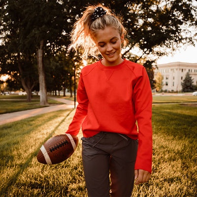 Crimson Neo Crop Sweatshirt