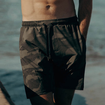 Wind and Sea Shorts, Camo