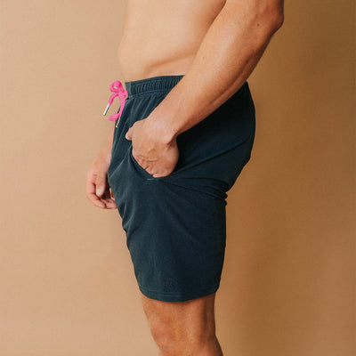 Wind and Sea Shorts, Heather Navy