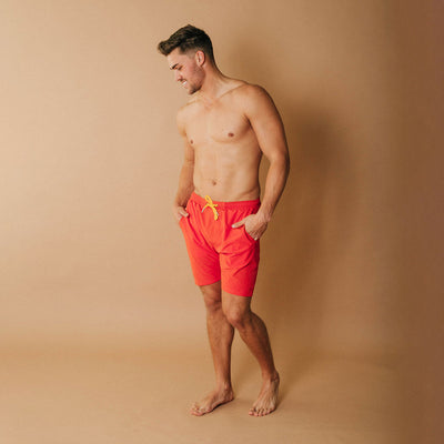 Wind and Sea Shorts, Heather Orange