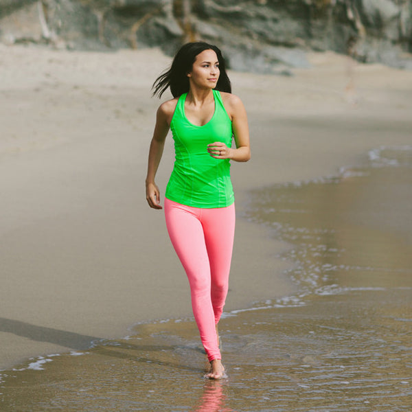Go Long Legging, Coral - Albion - 4