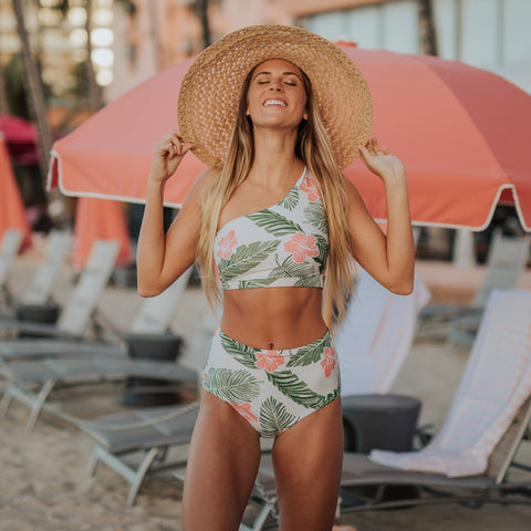 Aloha Icon Swim Crop