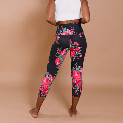 Intention Compression 3/4 Leggings, Antigua