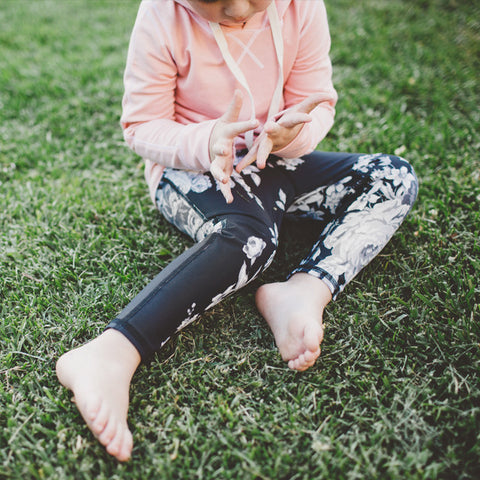Mini Antigua Slate Leggings - Albion - 1