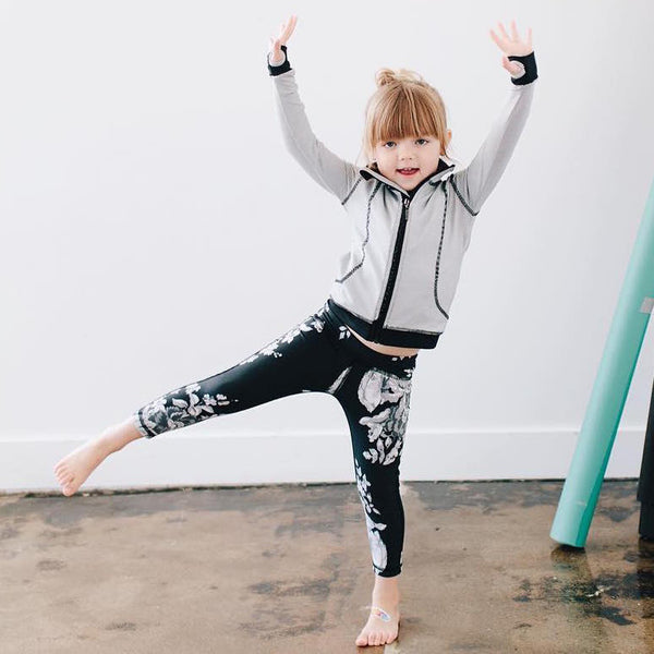 Mini Antigua Slate Leggings - Albion - 2