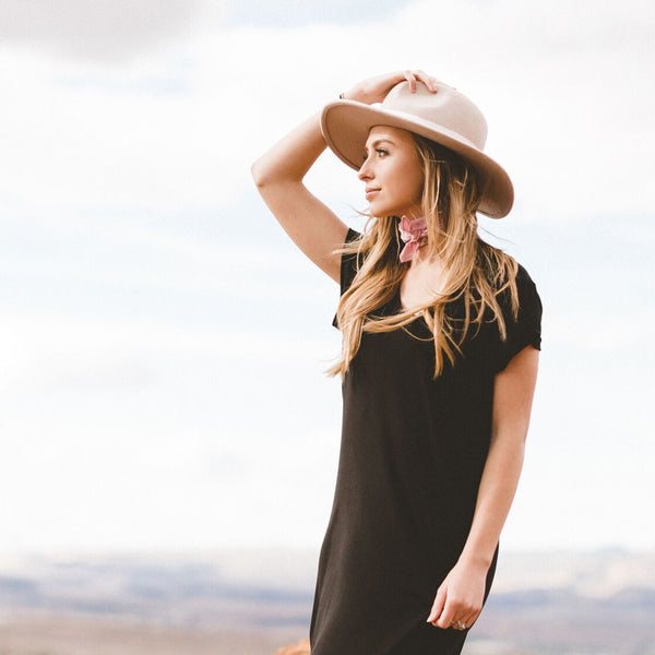 Black Maxi Dress - Albion - 3