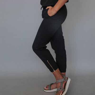 Mini Black Jumpsuit