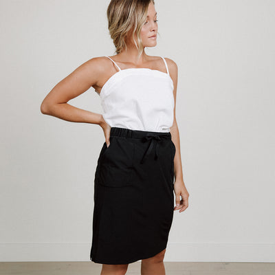 Black Jetsetter Skirt