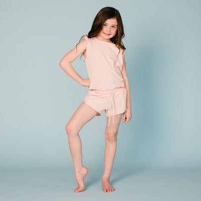 Mini Blush Romper
