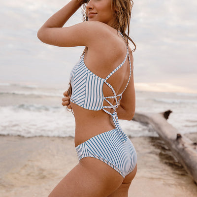 Breezy Stripe Hipster Bottoms