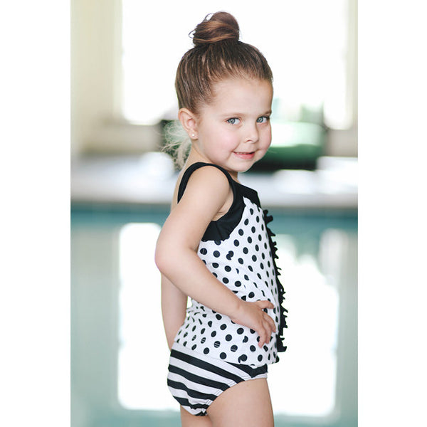 The Bridgette Swimsuit Tankini and Brief - Albion - 4