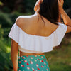 Candy Stripe Wave Crop